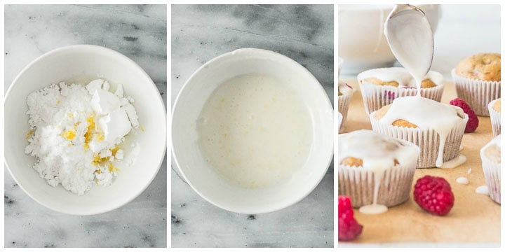 how to make lemon glaze step by step