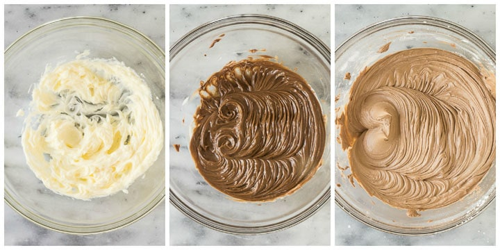 how to make Nutella buttercream