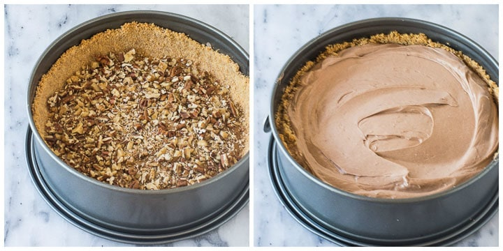 how to finish turtle cheesecake step by step