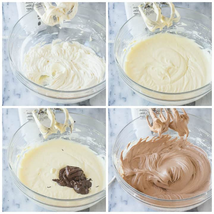 how to make chocolate cheesecake filling