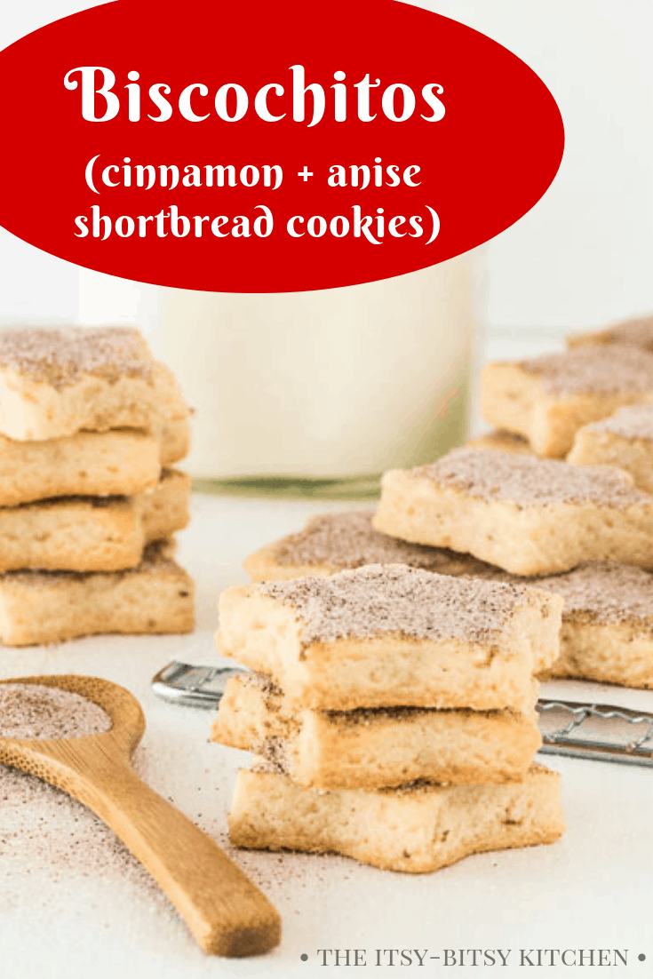 pin image for anise shortbread cookies