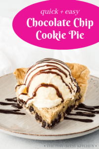 pin image for chocolate chip pie