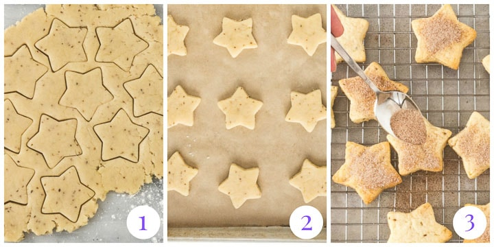 how to finish biscochitos step by step