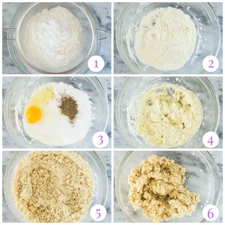 how to make biscochito cookie dough step by step