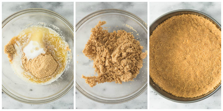 how to make graham cracker crust for cheesecake