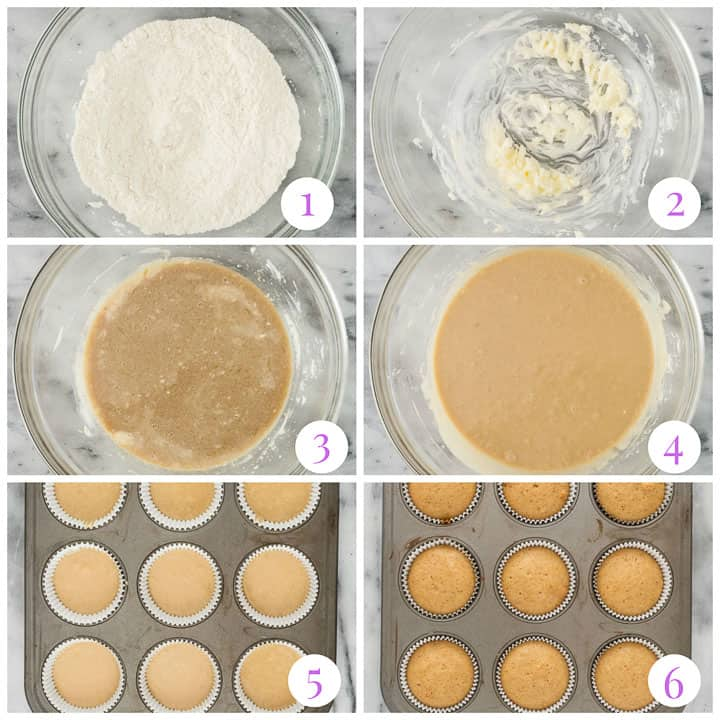 how to make maple cupcakes step by step