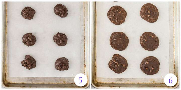 how to bake brownie mix cookies