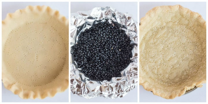 how to pre-bake pie crust