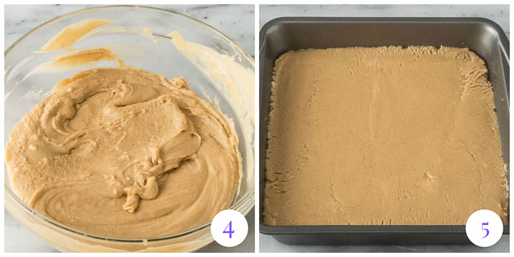 how to finish microwave peanut butter fudge