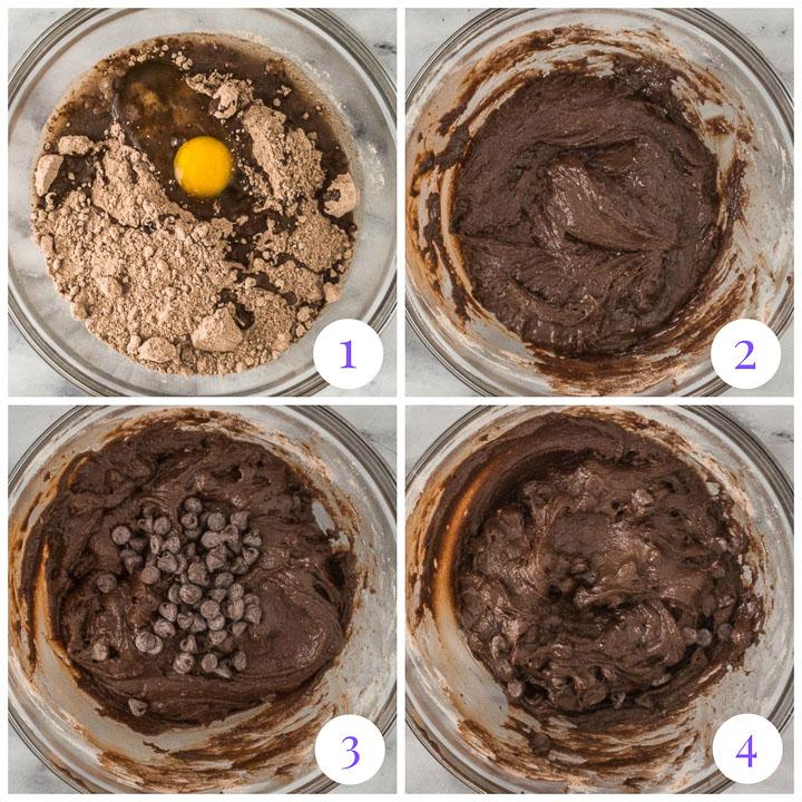 how to make brownie cookies step by step