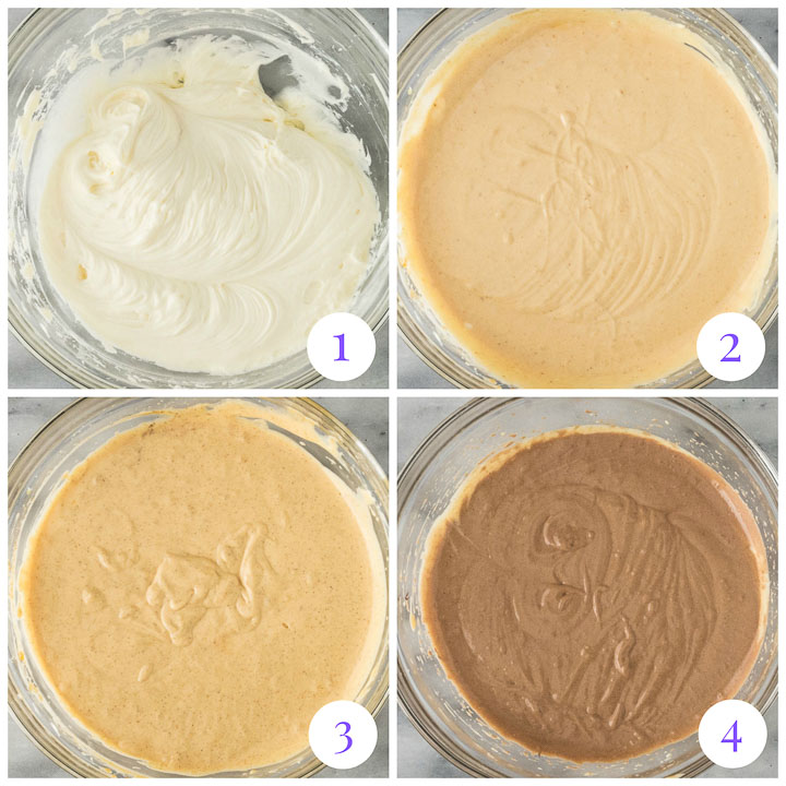 how to make chocolate pumpkin cheesecake