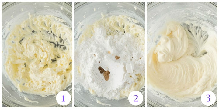 how to make cream cheese glaze step by step