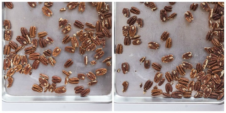 how to toast pecans in the oven