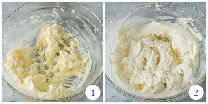 how to make champagne buttercream frosting step by step