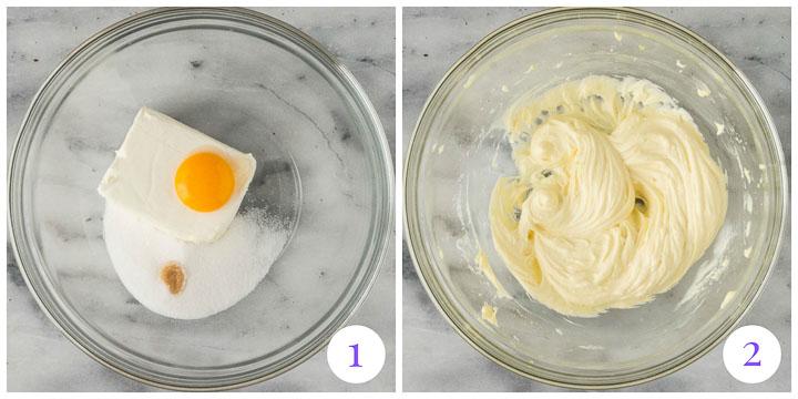 how to make cheesecake cupcake filling
