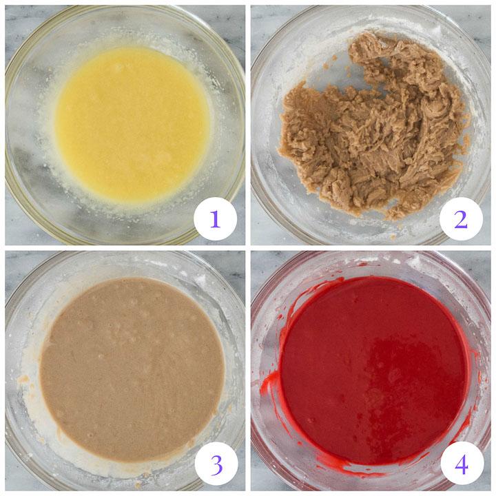 how to make red velvet cupcake batter