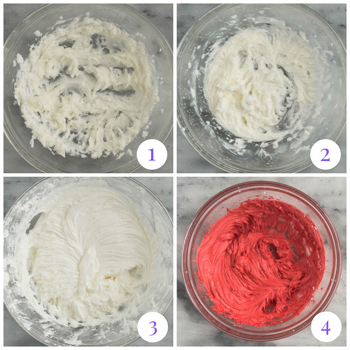 how to make peppermint buttercream step by step
