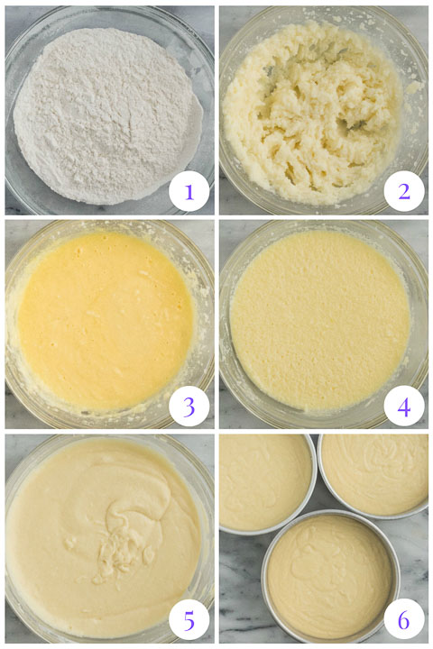 how to make coconut cake step by step