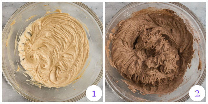 how to make chocolate peanut butter frosting