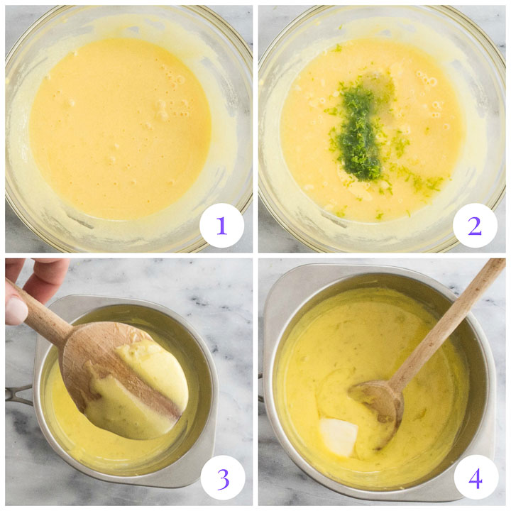 how to make lime curd from scratch