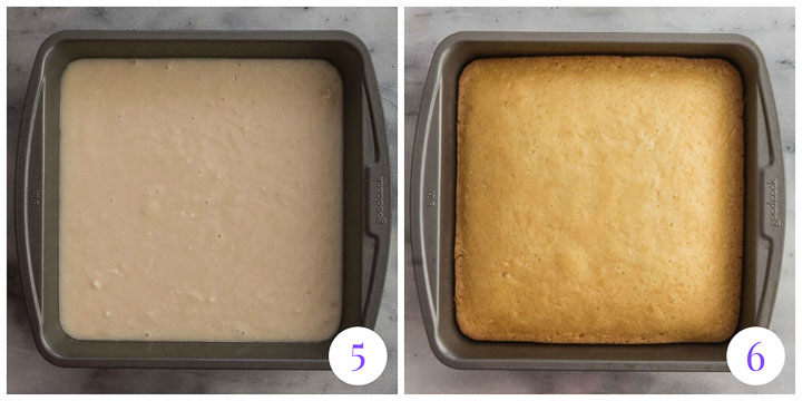 how to finish coconut cake