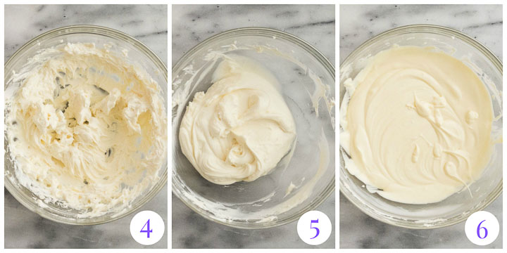 how to make cheesecake cupcake filling