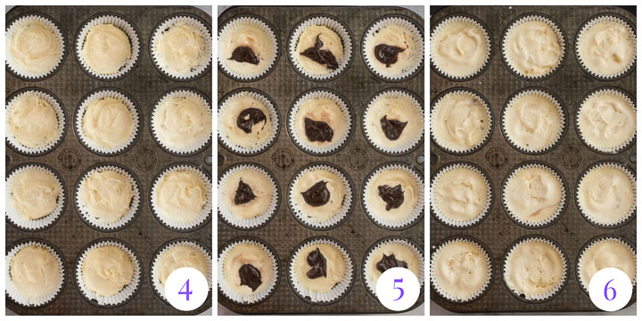 ice cream cupcakes step by step