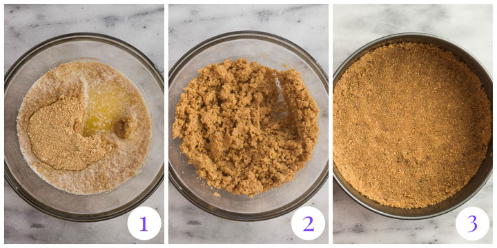 graham cracker crust step by step
