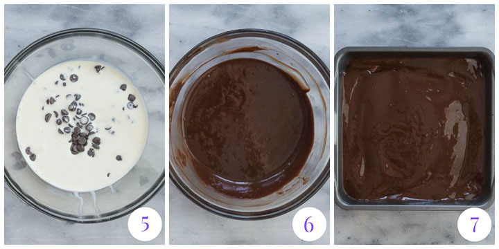 how to make chocolate topping for fudge