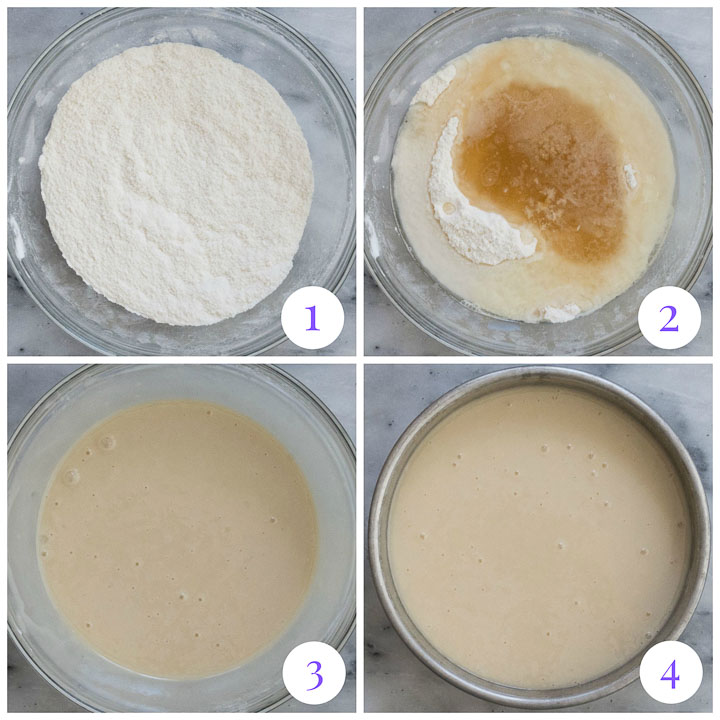 how to make vanilla crazy cake step by step