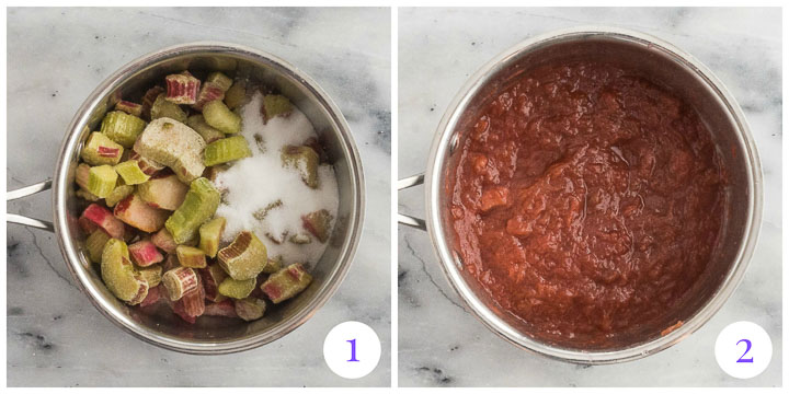 how to cook rhubarb step by step