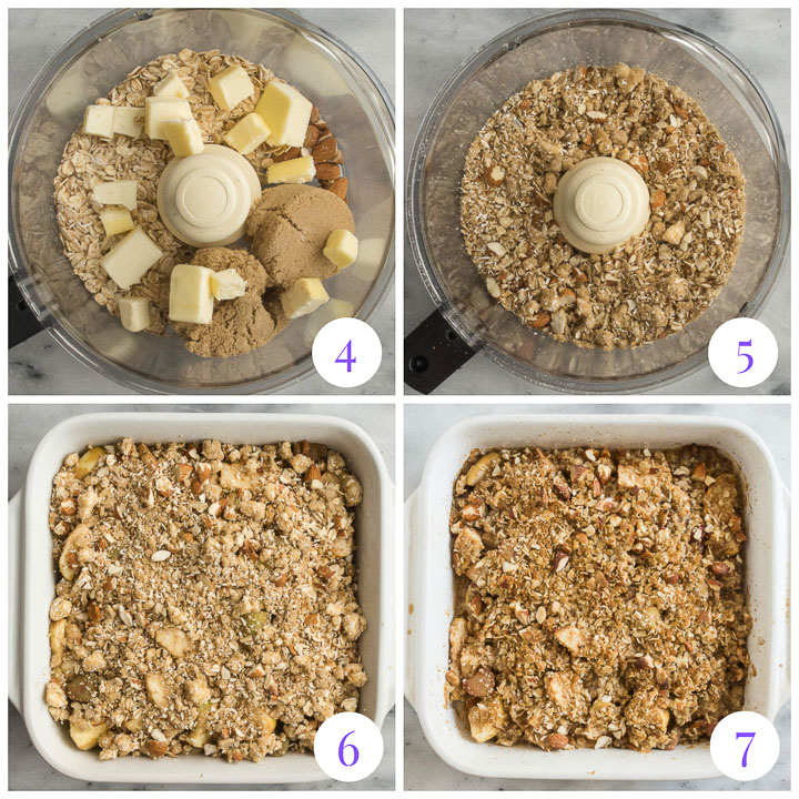 how to make topping for fruit crisp