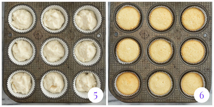 how to finish cupcakes