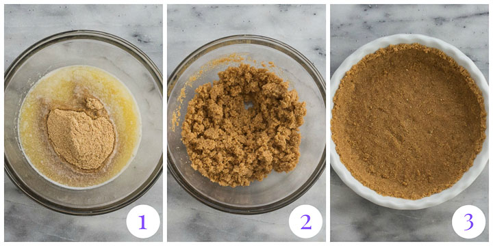 graham crumb crust step by step