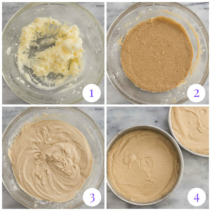 cake layers step by step