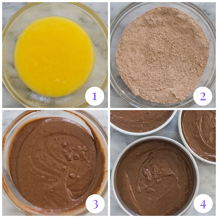 how to make chocolate cake step by step