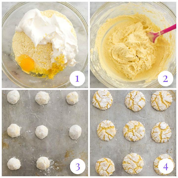 how to make lemon cake mix cookies
