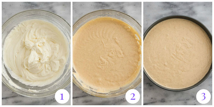 how to make sweet potato cheesecake filling