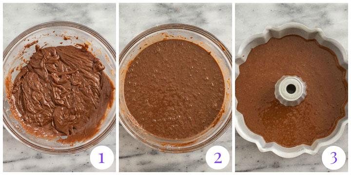 how to make Kahlua cake step by step