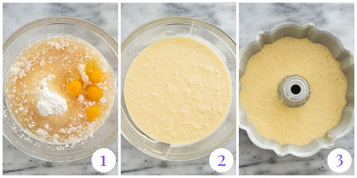 how to make amaretto cake step by step