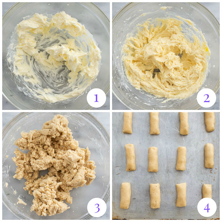 how to make nutmeg cookies step by step