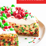 pin image for cake with text overlay