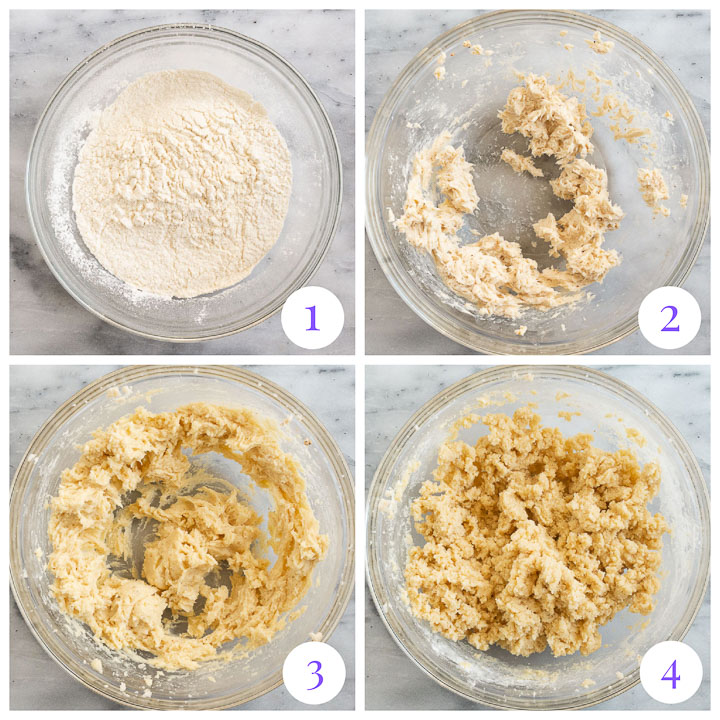 how to make eggnog cookies step by step