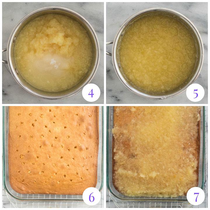 how to make pineapple glaze
