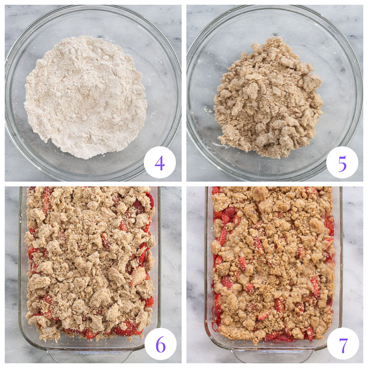 how to make streusel topping for crumble