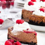 pinterest image for cheesecake