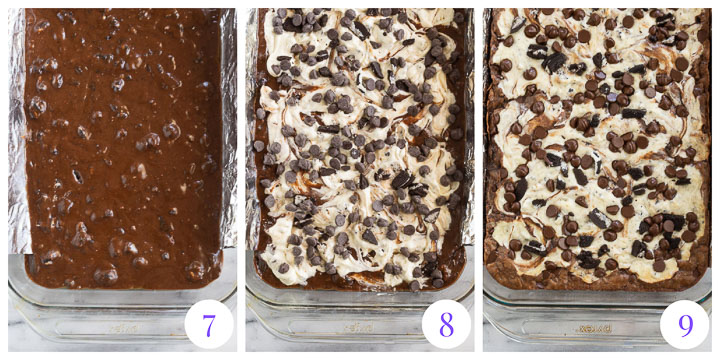 how to finish brownies step by step
