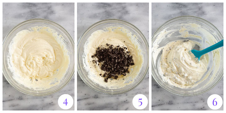 how to make the cheesecake layer step by step