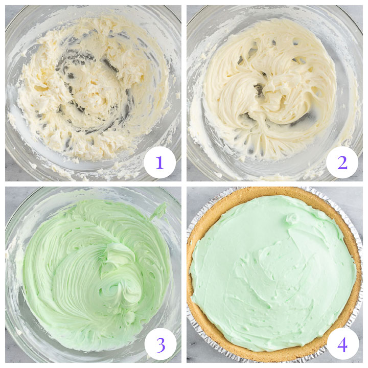how to make no bake margarita pie step by step