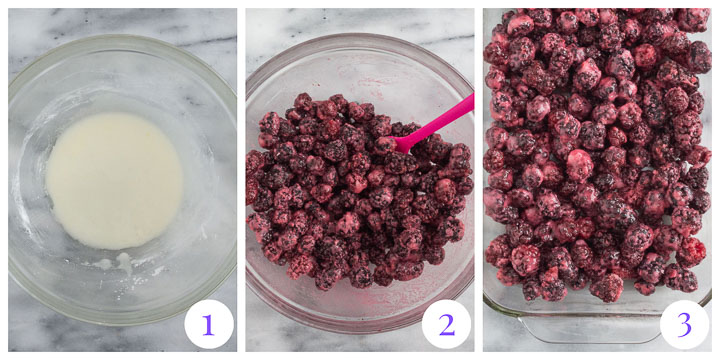 how to make crumble step by step
